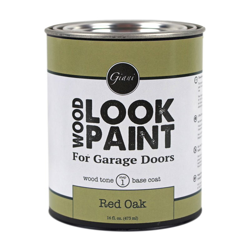 Giani Red Oak Wood Look Tone Base Coat for Garage Doors