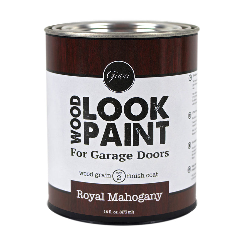 Giani Royal Mahogany Wood Look Grain Finish Coat for Garage Doors