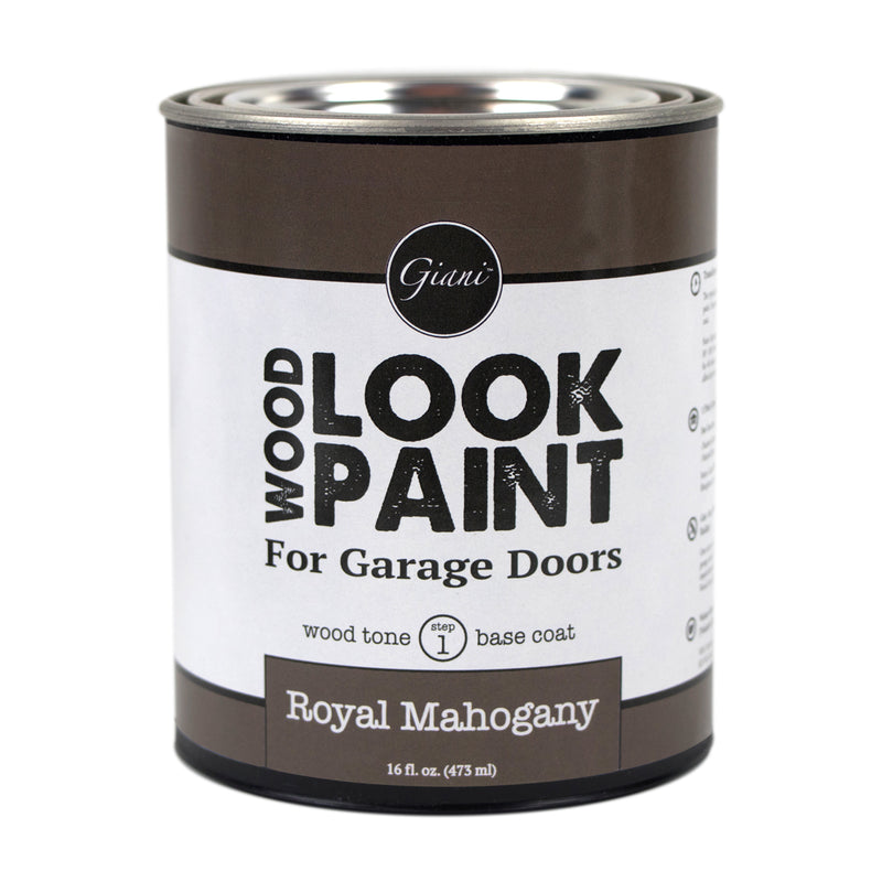 Giani Royal Mahogany Wood Look Tone Base Coat for Garage Doors