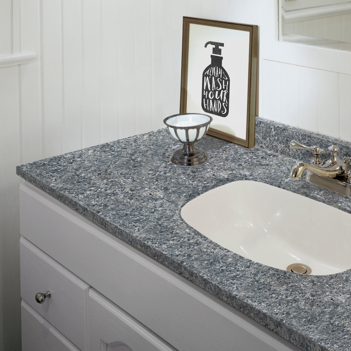 Best Countertops For Bathroom: Giani Slate Small Project Paint Kit
