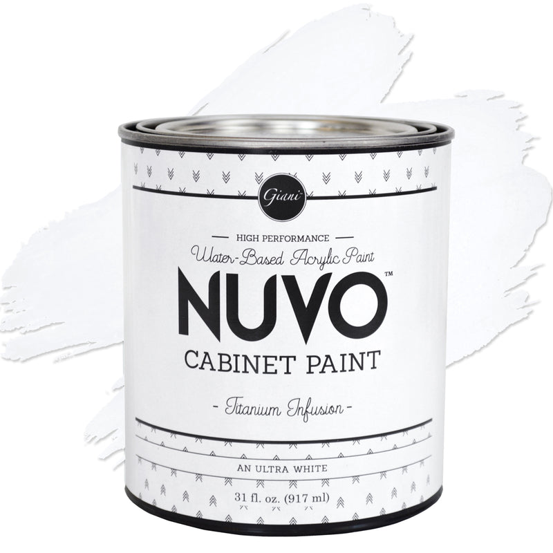 Nuvo Titanium Infusion Cabinet Paint