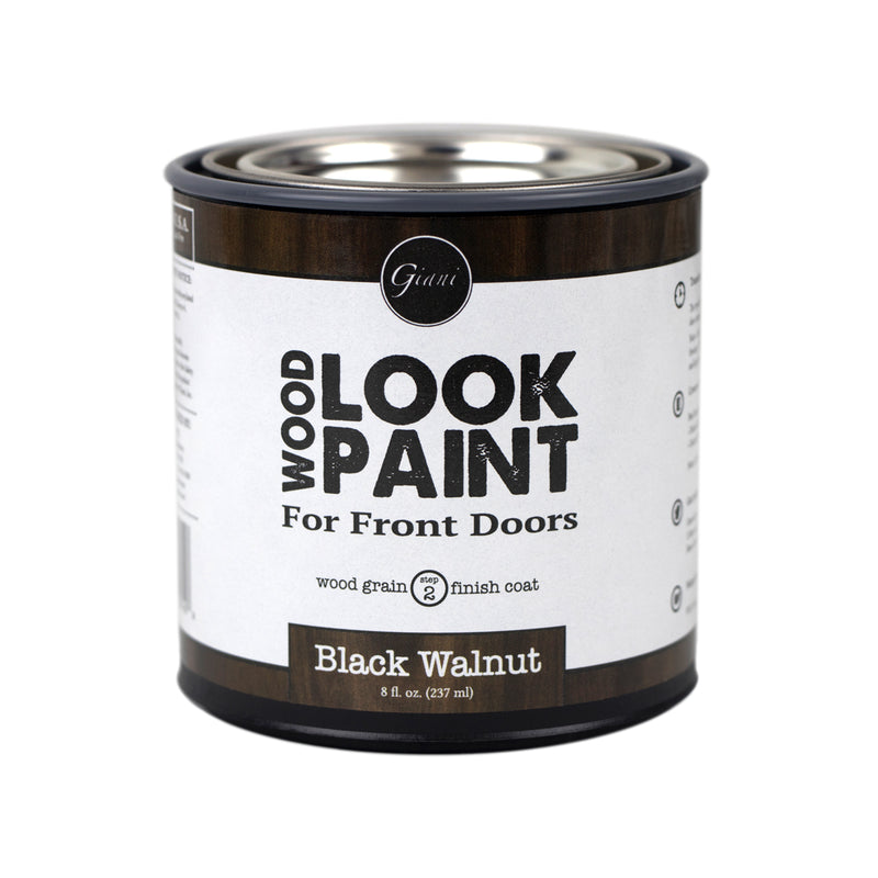 Giani Black Walnut Wood Look Grain Finish Coat for Front Doors