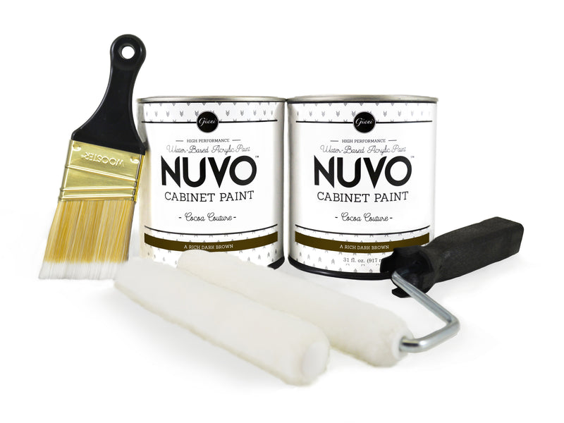 Nuvo Cocoa Couture Cabinet Paint Kit