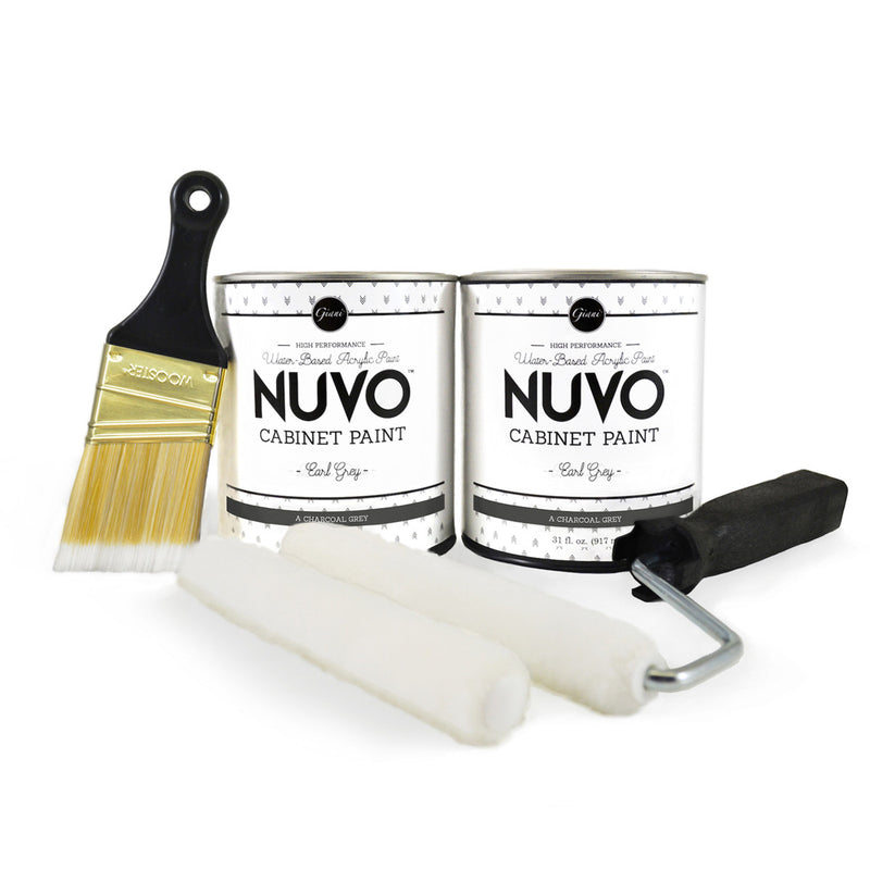 Nuvo Earl Grey Cabinet Paint Kit