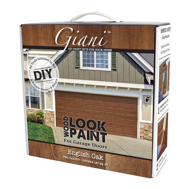 Giani English Oak Wood Look Kit for Garage Doors