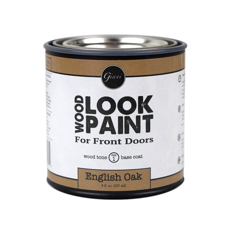 Giani English Oak Wood Look Tone Base Coat for Front Doors