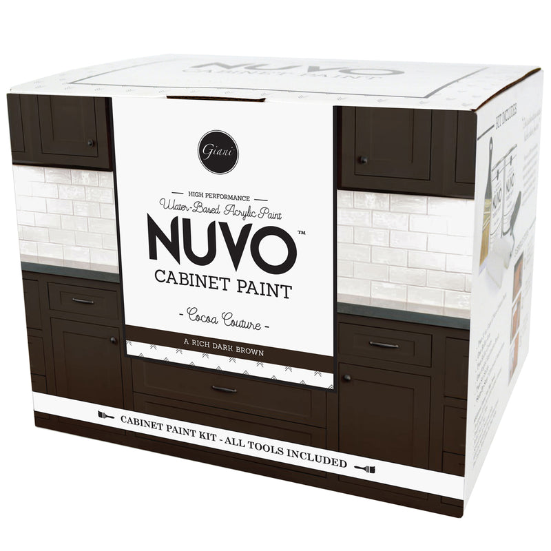 Wonderful Nuvo Cocoa Couture Cabinet Paint Kit