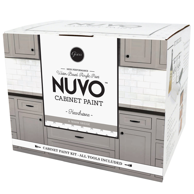 kitchen cabinet paint kit nuvo coconut espresso cabinet paint kit giani inc 5634