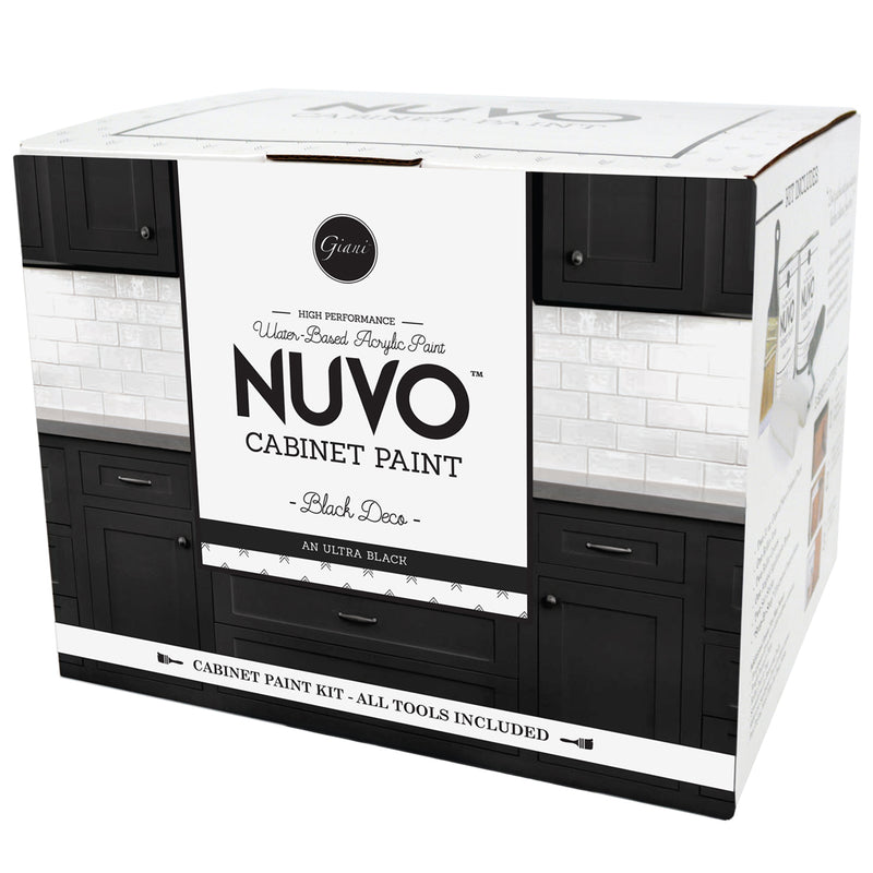 Nuvo Black Deco Cabinet Paint Kit