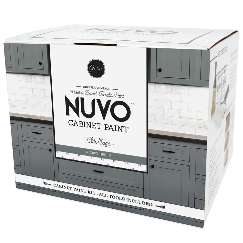 Nuvo Olde Sage Cabinet Paint Kit