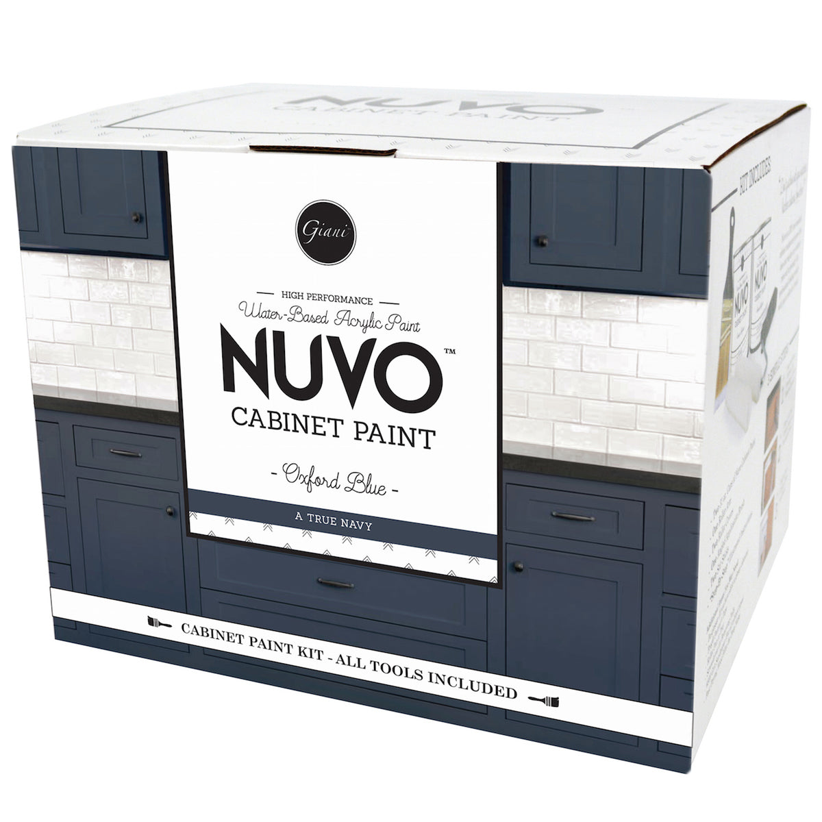 Bon Nuvo Oxford Blue Cabinet Paint Kit