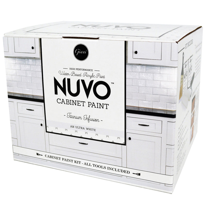 Nuvo Titanium Infusion Cabinet Paint Kit