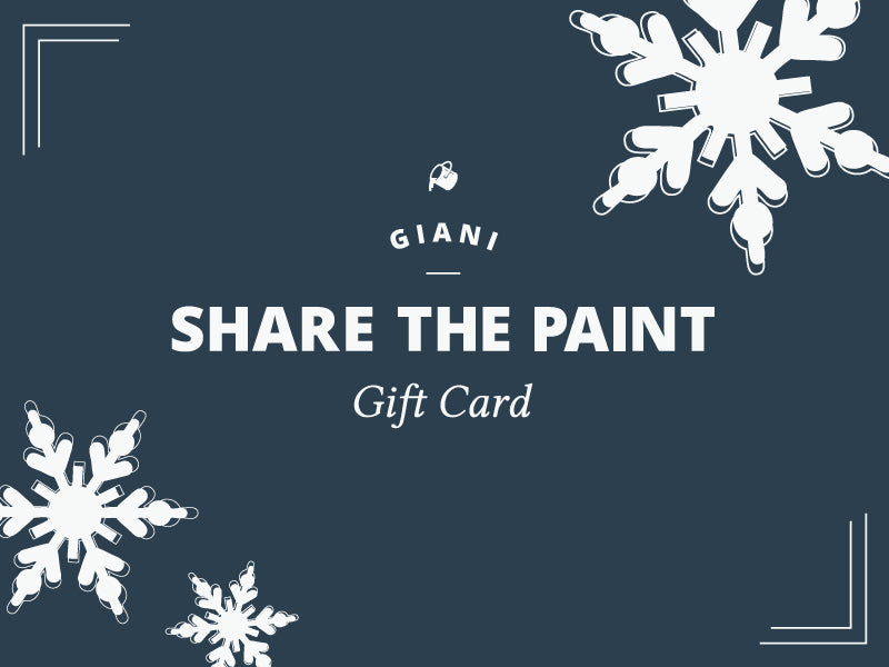 Giani Share the Paint Gift Card