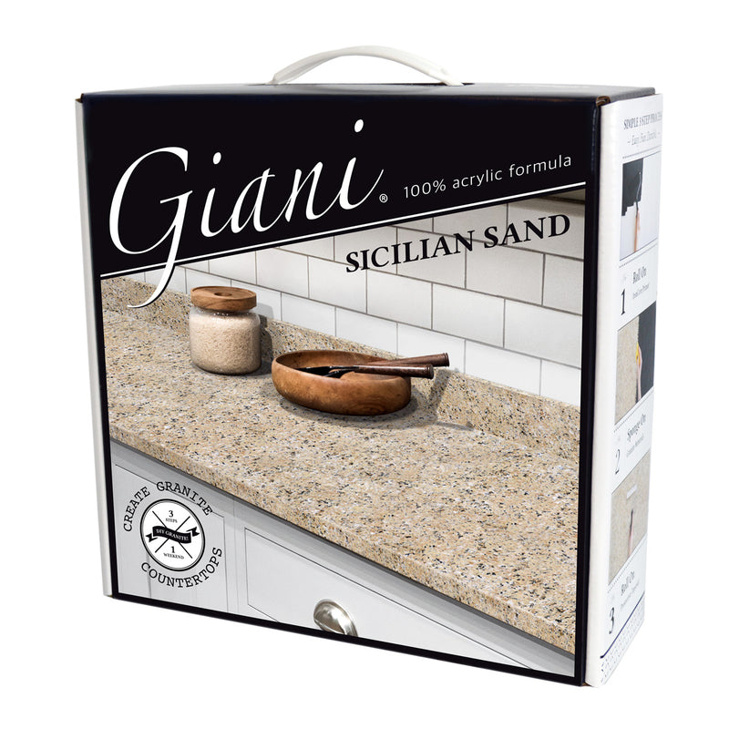 Giani Granite 2.0 - Sicilian Sand Countertop Kit