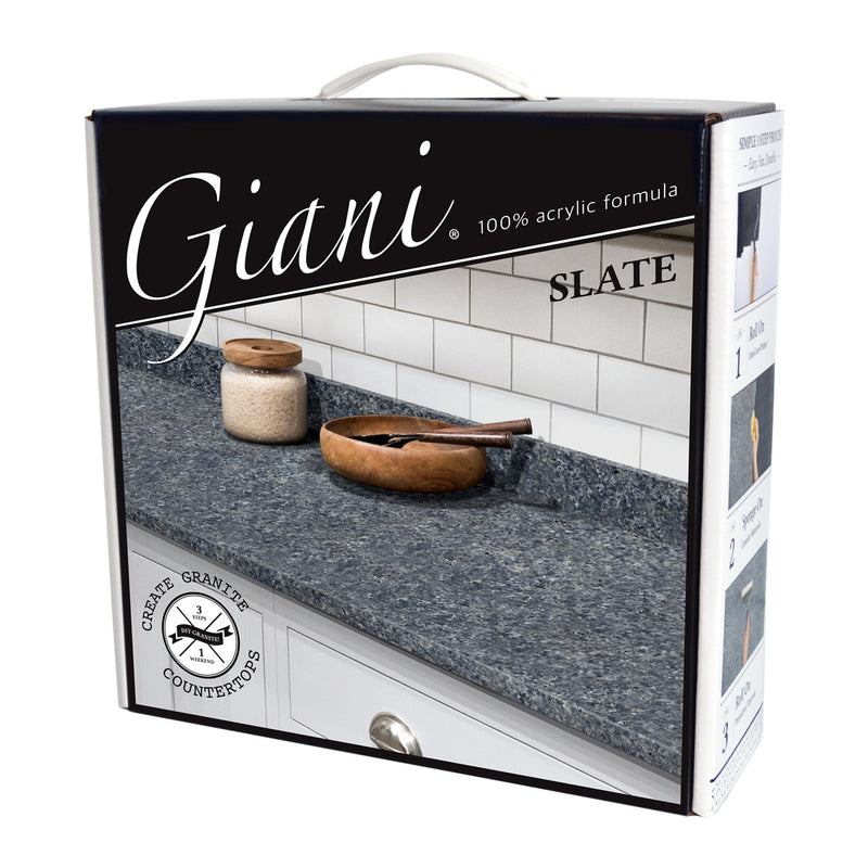 Giani Granite 2.0 - Slate Countertop Kit