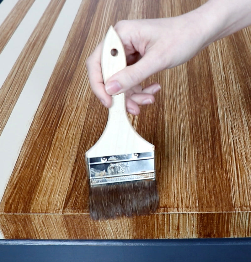 Wood Graining Brush for Giani Butcher Block Countertop Paint
