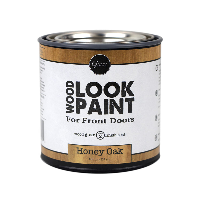 Giani Honey Oak Wood Look Grain Finish Coat for Front Doors