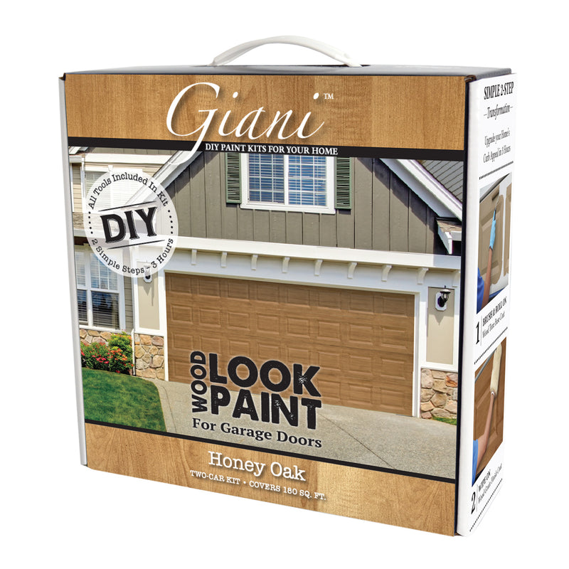 Giani Wood Look Paint Kit For Front Interior Doors Black Walnut