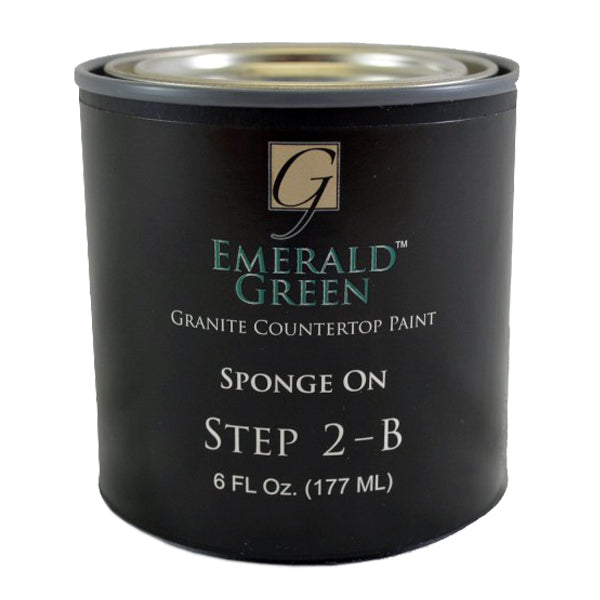 Emerald Green Mineral for Giani Countertop Paint Kits Step 2B