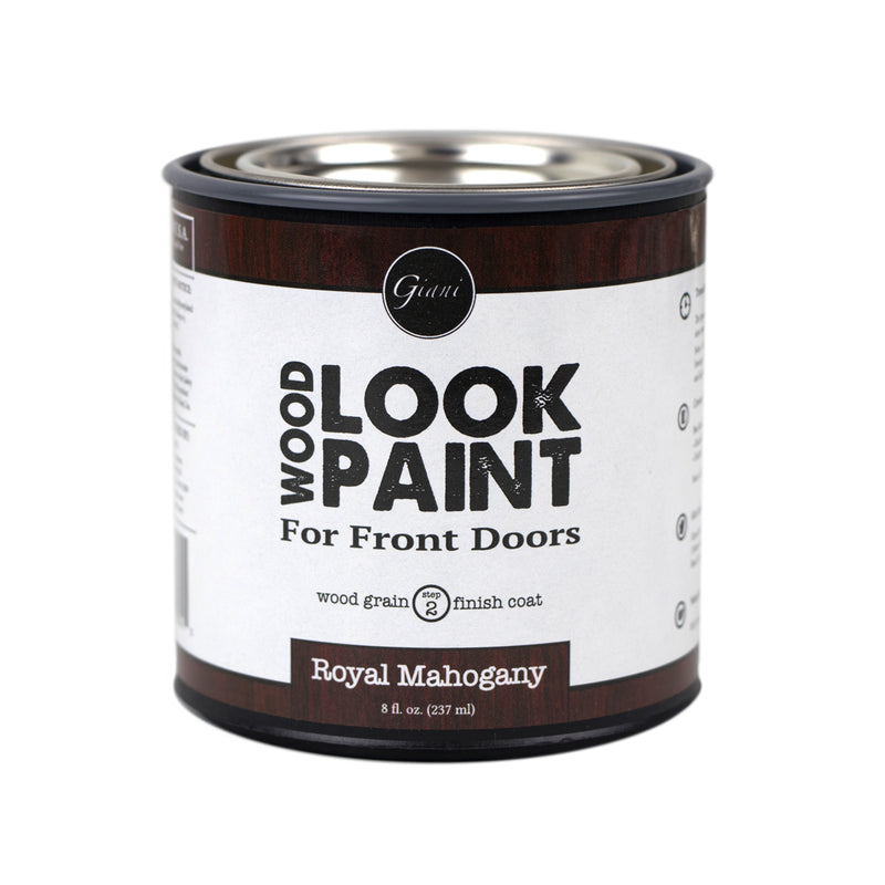 Giani Royal Mahogany Wood Look Grain Finish Coat for Front Doors