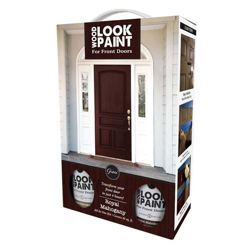 Giani Royal Mahogany Wood Look Kit for Front Doors