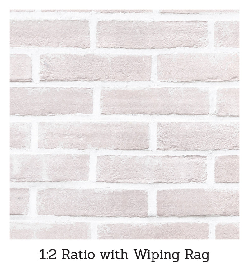 Brick Transformations Whitewashed Kit