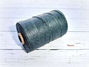 grey 4ply Irish waxed lined cord