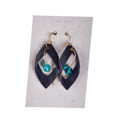 Bike Inner Tube Earrings