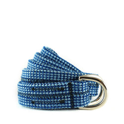 Twin Rope Belt - Blue Check