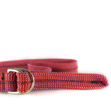 Twin Rope Belt - Cherry Red
