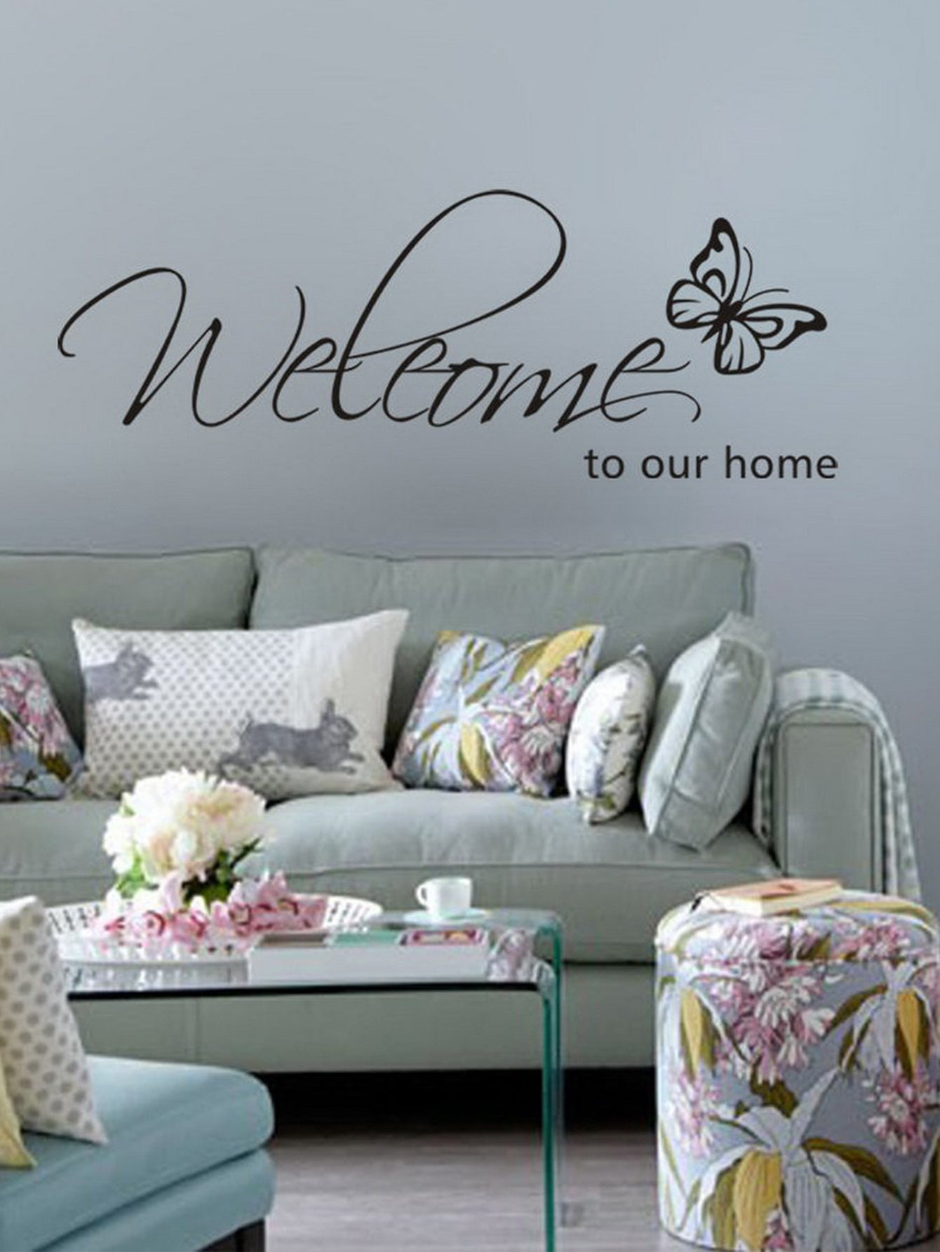 Sweet Home House Decorative Pillows Home Decor Accessories Welcome Home Wall Art Vases Artificial Flowers Storage Organization