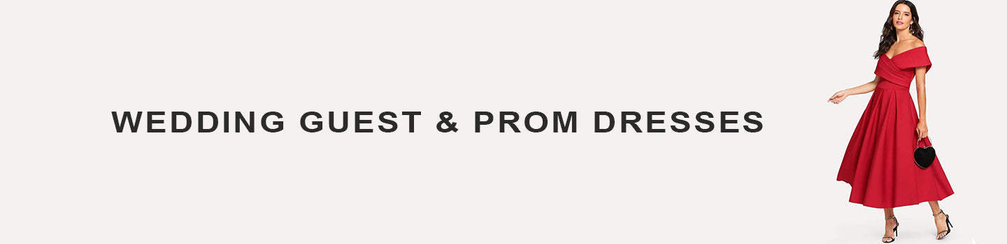 WEDDING GUEST & PROM DRESSES