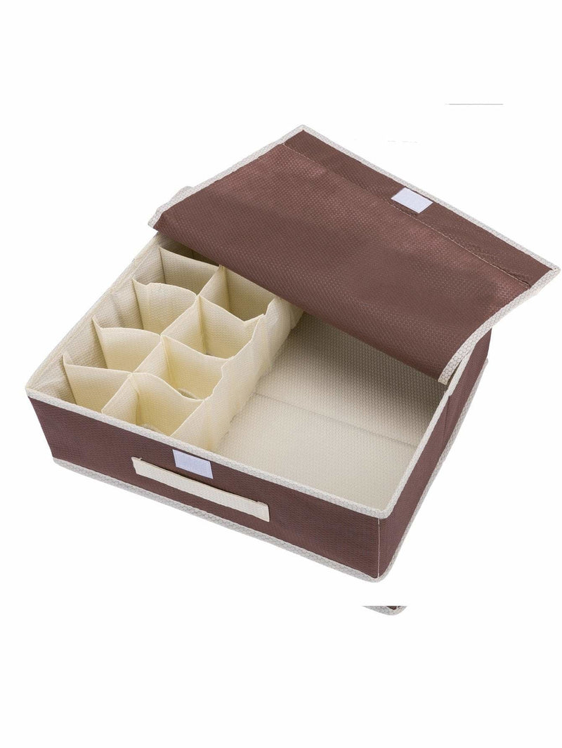 11 Compartment Underwear Storage Box - Storage & Organization