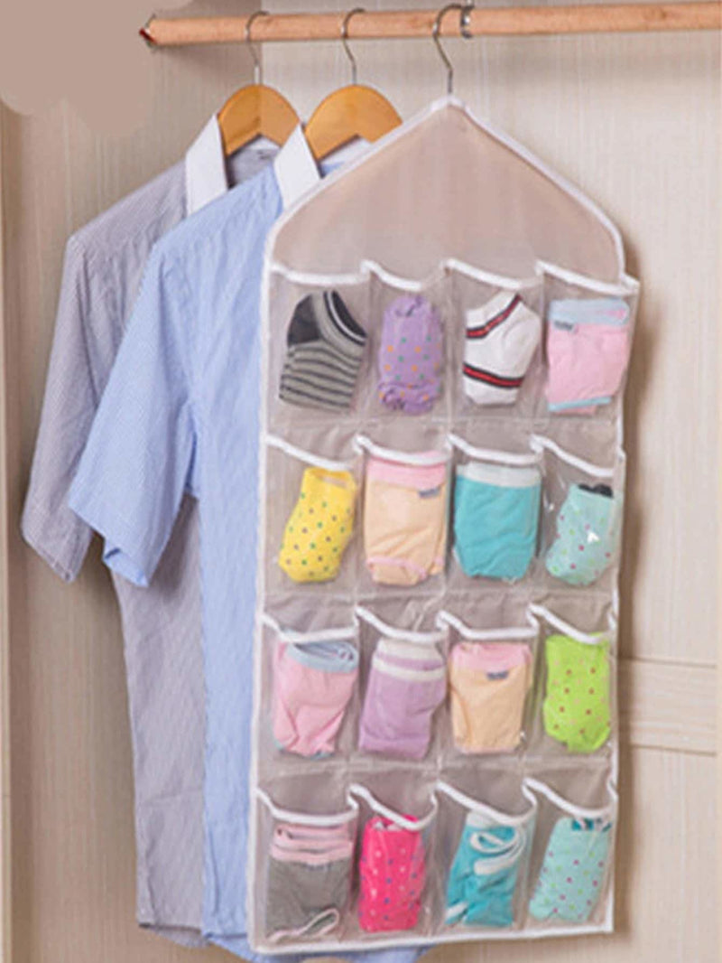 16 Pocket Clear Storage Bag - Storage & Organization