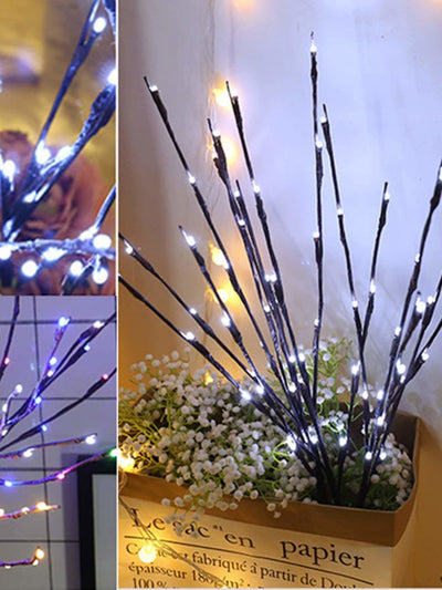 1pc LED Wrapped Lighted Branch - Lighting & Lamps