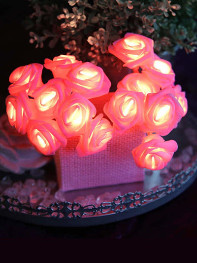 20pcs Rose Bulb String Light 12v - Lighting & Lamps