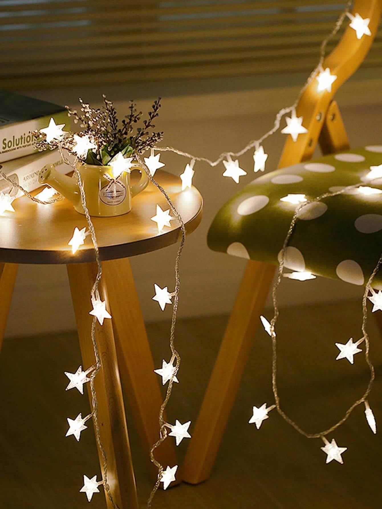 20pcs Star Bulb String Light 12v