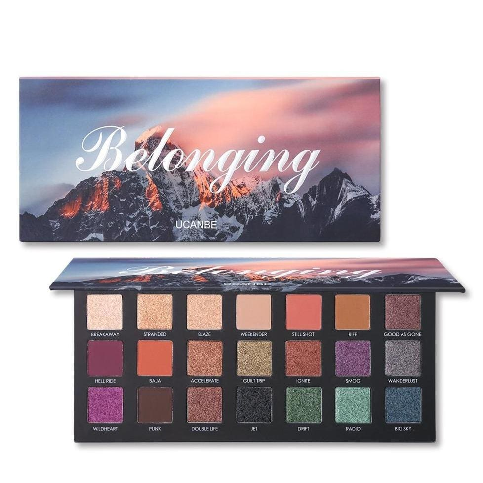 21 Colors Belonging Eyeshadow Palette - Eyeshadow