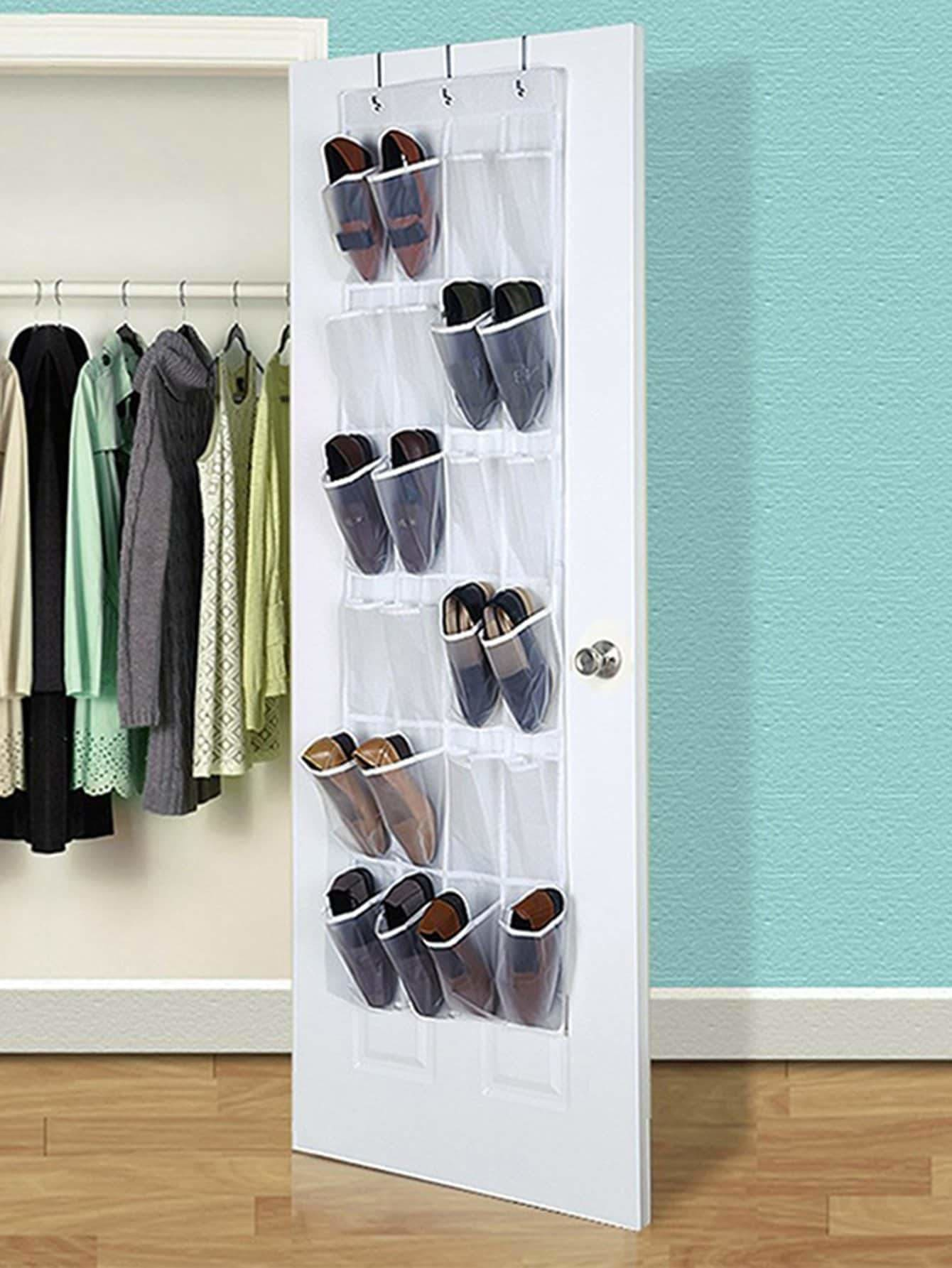 24grid Hanging Shoe Storage Bag - Storage & Organization