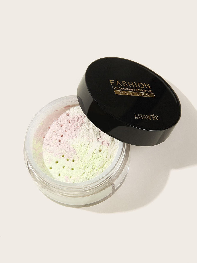 3 Colors Loose Powder 1pc - Multicolor - Powder