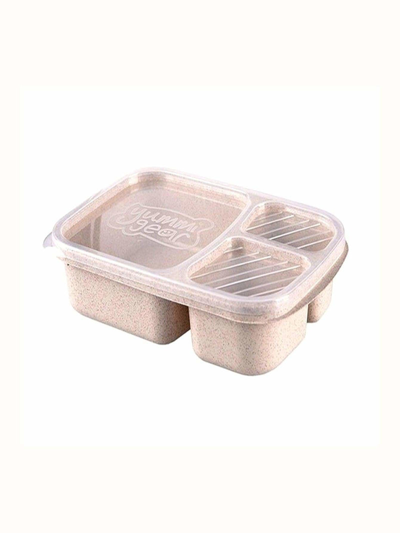 3 Compartment Lunch Box - One-Size / One Color - Dining