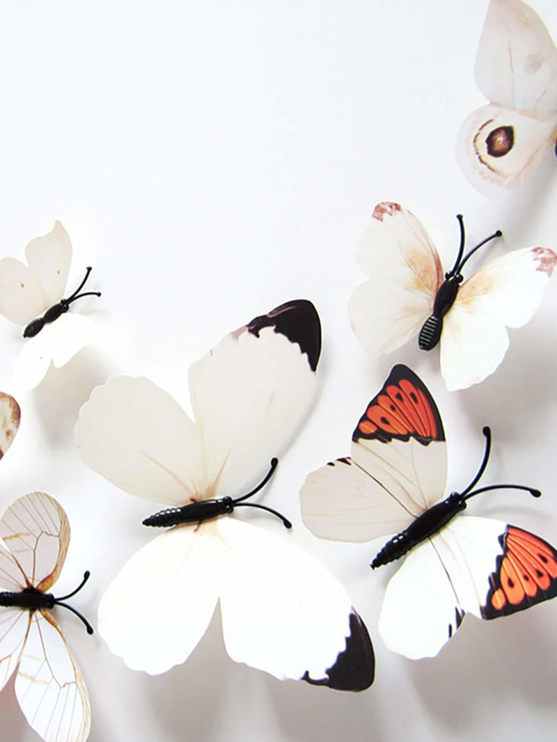 3D Butterfly Wall Art 12Pcs - Wall Art