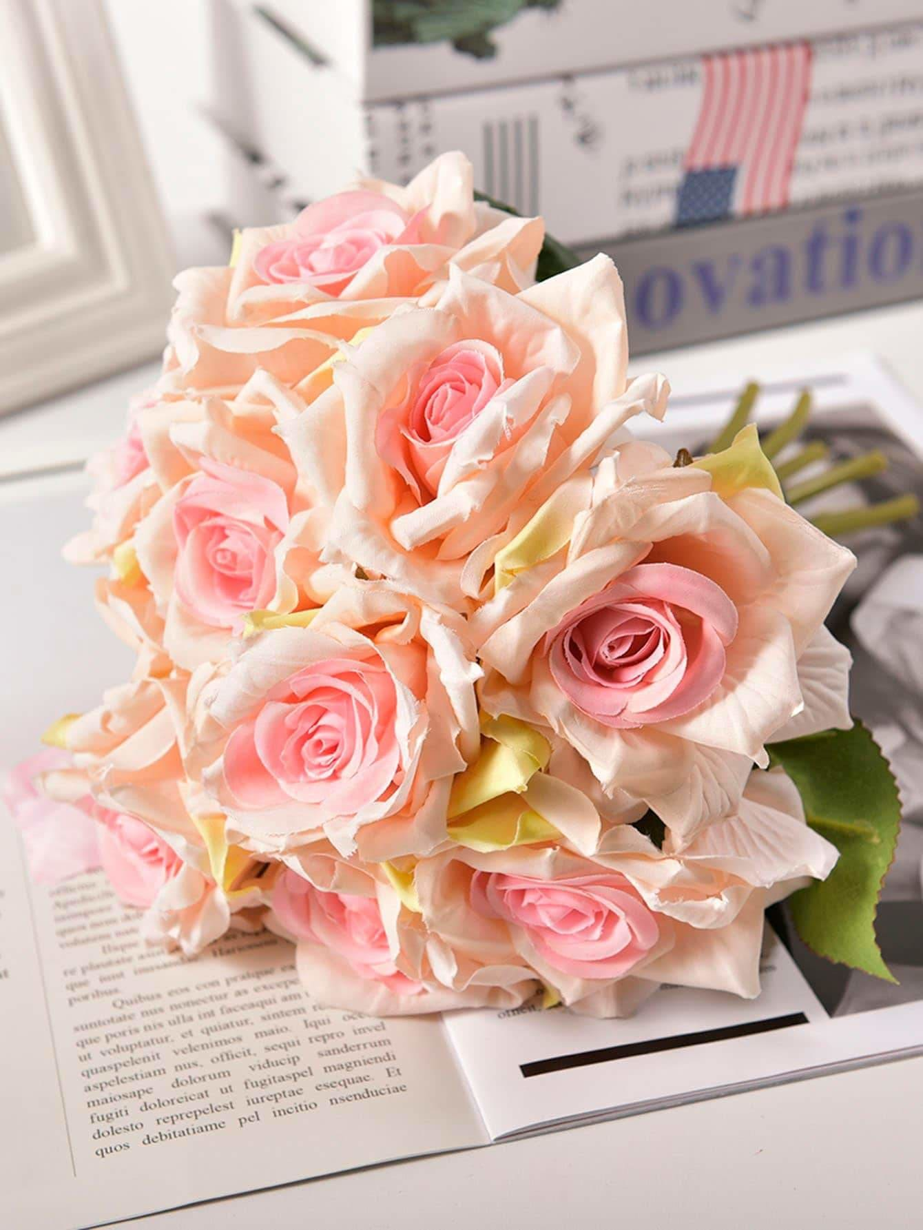 5pcs Rose Bouquet - Vases & Artificial Flowers