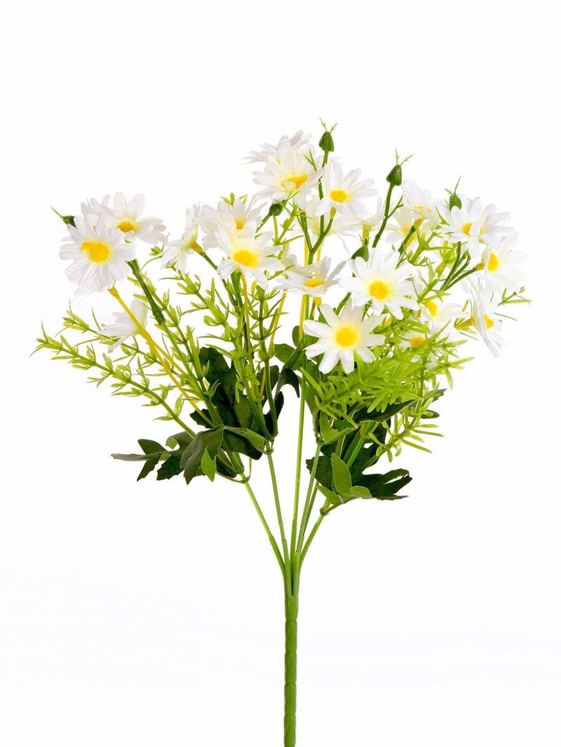 Artificial Flower Bunch With 6pcs Branch - Vases & Artificial Flowers