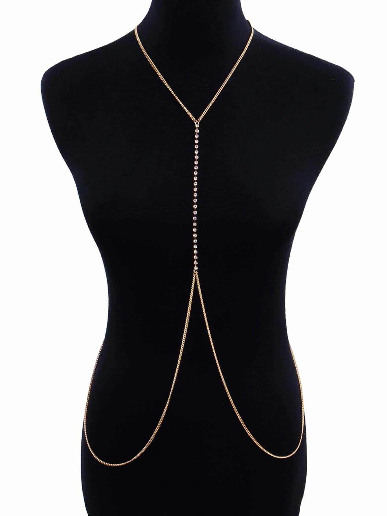 Bead Detail Body Chain