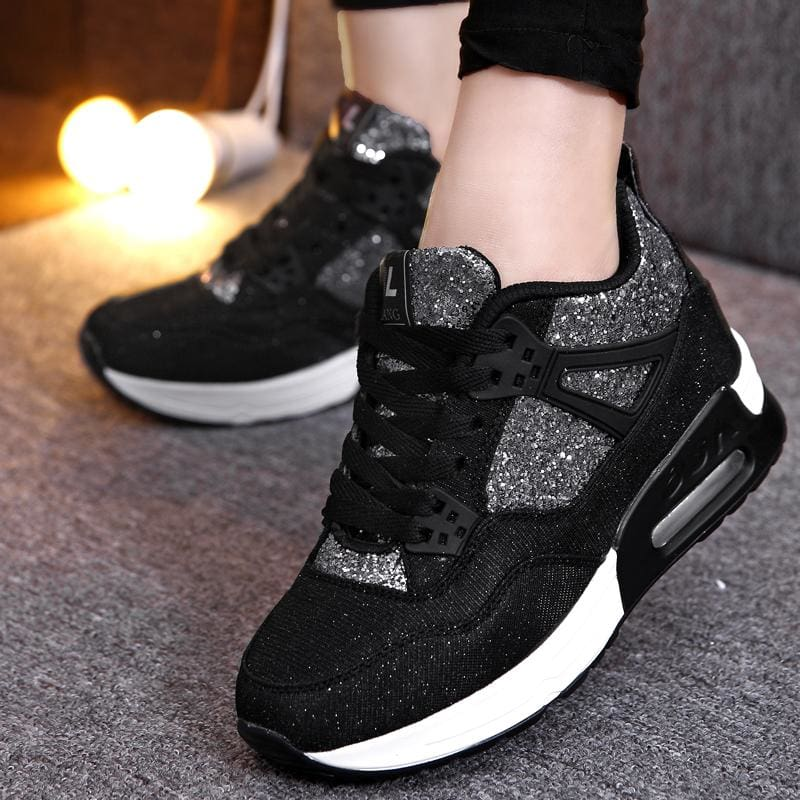 Bling Breathable Sneakers - Womens Sneakers
