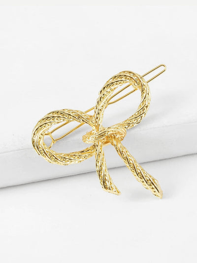 Bow Design Hair Clip - Hair Accessories