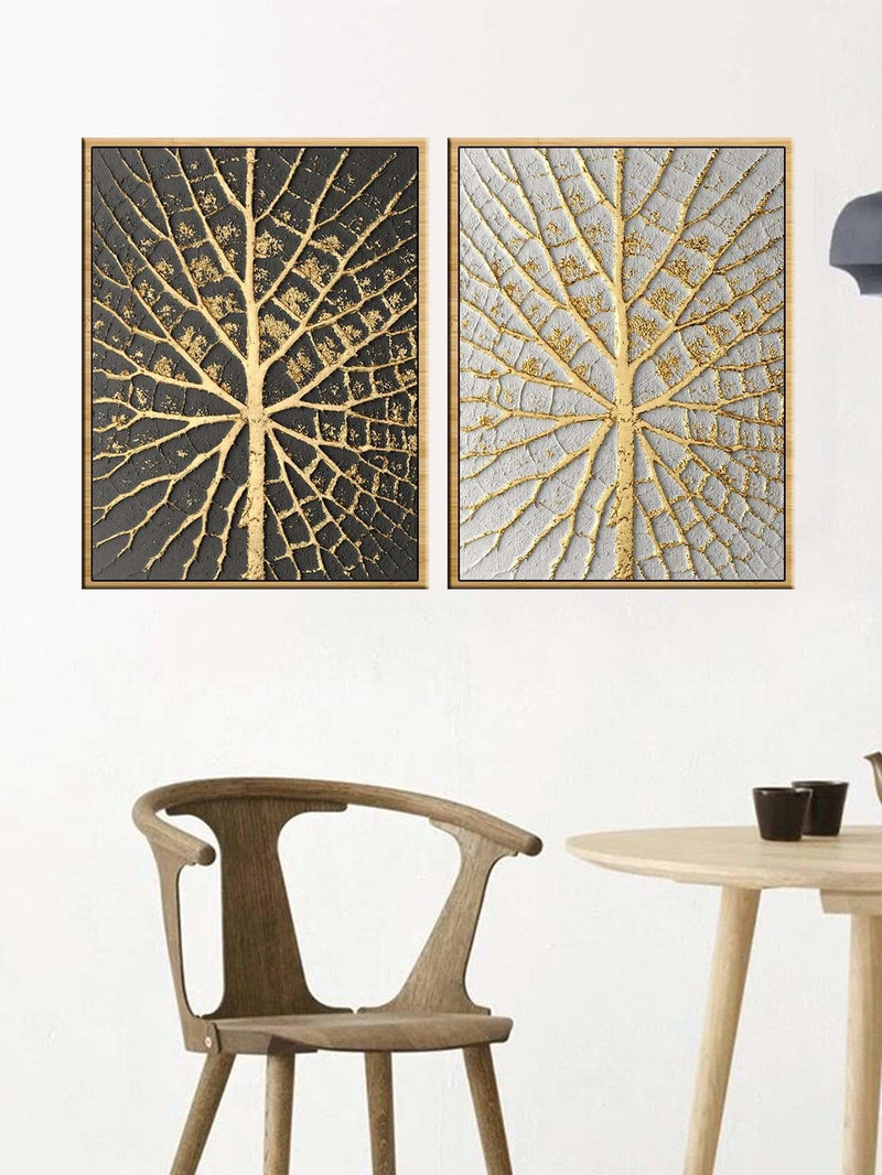 Branch Pattern Wall Art 2Pcs - Wall Art