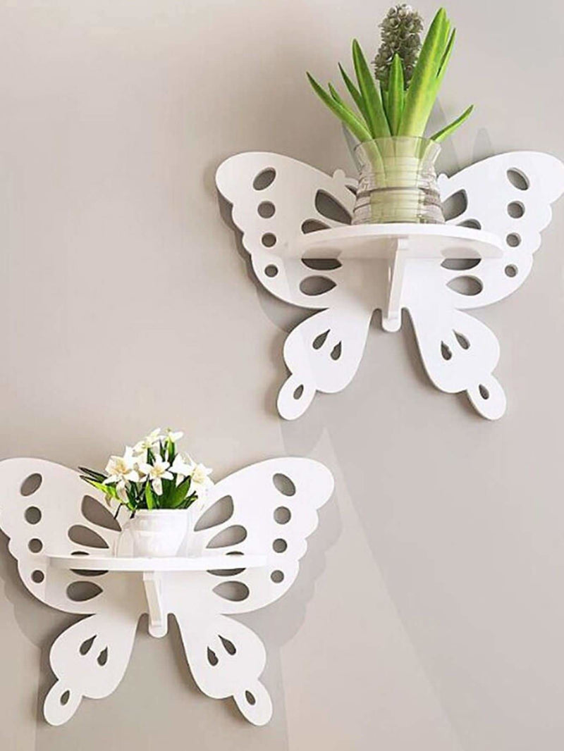 Butterfly Decorative Wall Shelf 1Pc - Wall Art