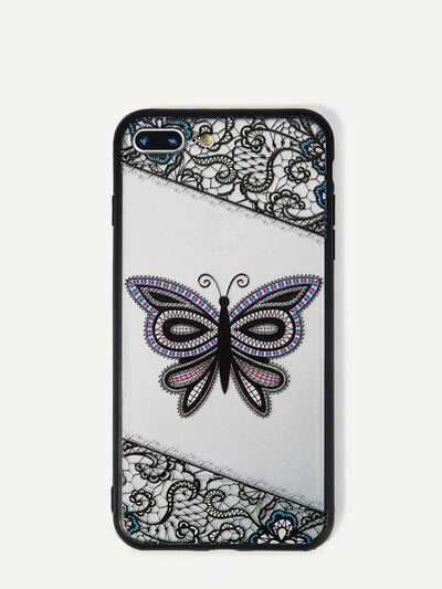 Butterfly Print Iphone Phone Case - Phone Cases